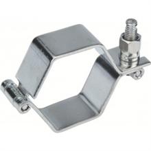 Colliers hexagonaux MACON sans tiges inox 304