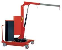Grues porte-à-faux rotatives élévations électriques 500kg