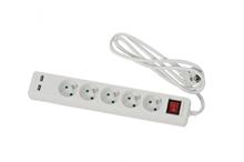 Bloc multiprises et ports USB IP20